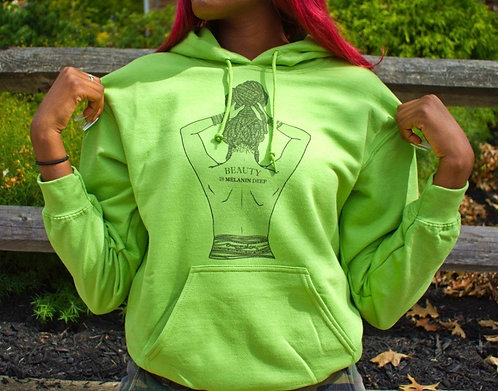 Melanin Deep Hooded Sweatshirt