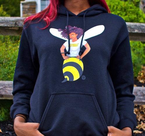 Bee Girl Hooded Sweatshirt