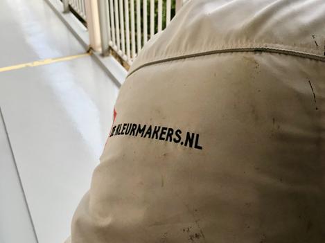 Aanbrengen nieuwe coatinglaag VVE Haagweg