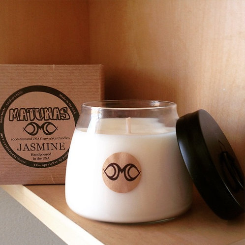 MATUNAS 100% NATURAL SOY CANDLE 14OZ GIFT BOX