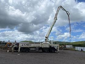 Concord Boom Pump, Boom Pump MSC Concrete