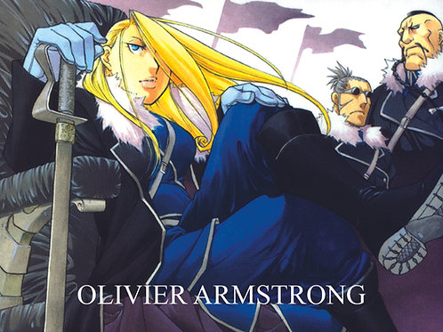 Olivier Armstrong | Autographed Postcard
