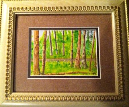 """""""A Waskesiu View"""" - Mary McLeod"""