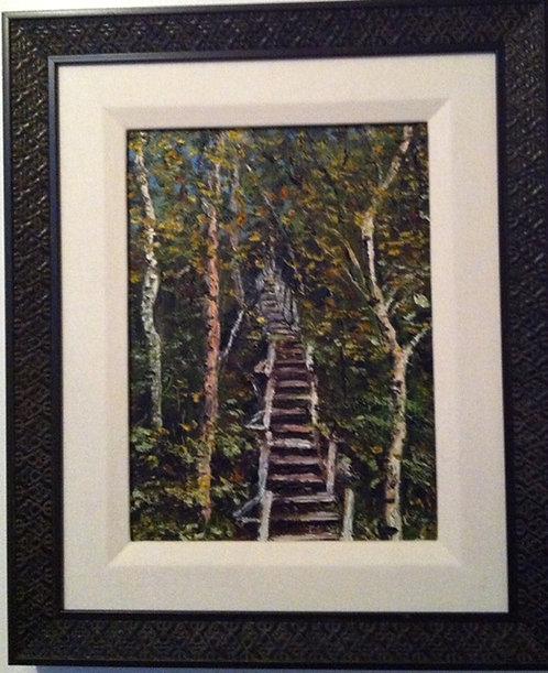 """New Brunswick Stairmaster"" - Mary McLeod"
