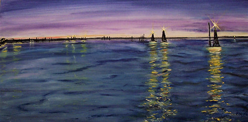 """A Venice View II"" - Mary McLeod"