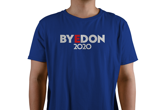 Blue BYEDON 2020 T-Shirt