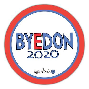 BYEDON 2020 Mike Luckovich Logo Button