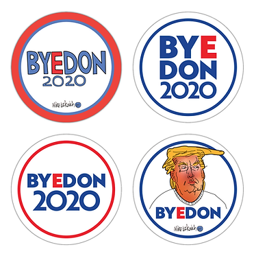 ByeDon 2020 Sticker Collection