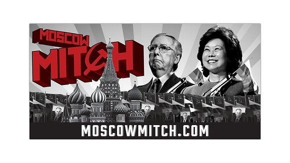 Moscow Mitch Bumper Sticker