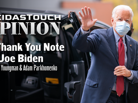 Op-Ed: A Thank You Note to Joe Biden
