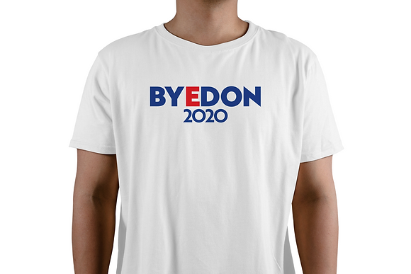 White BYEDON 2020 T-Shirt