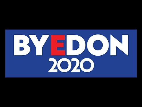 Blue BYEDON 2020 Bumper Sticker