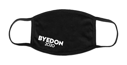 Black BYEDON 2020 Face Mask