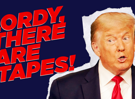 Op-Ed: Lordy, there are tapes! The October Surprise Comes Early