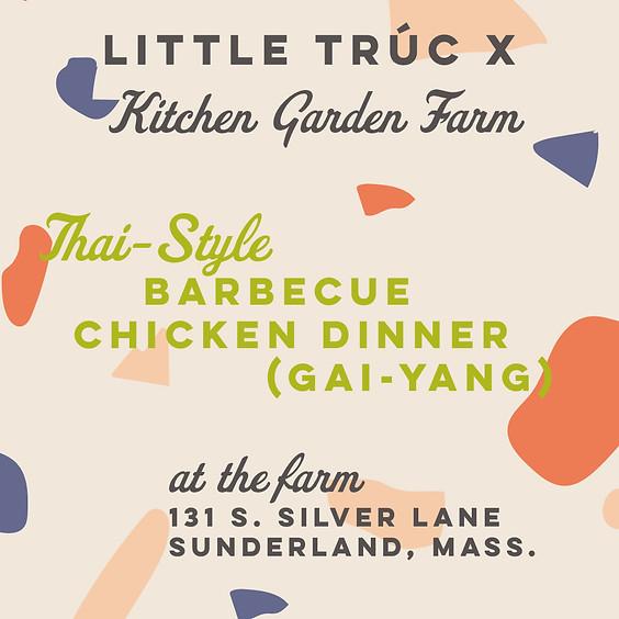 Kitchen Garden Farm x Little Trúc Thai-Style Grilled Chicken Dinner