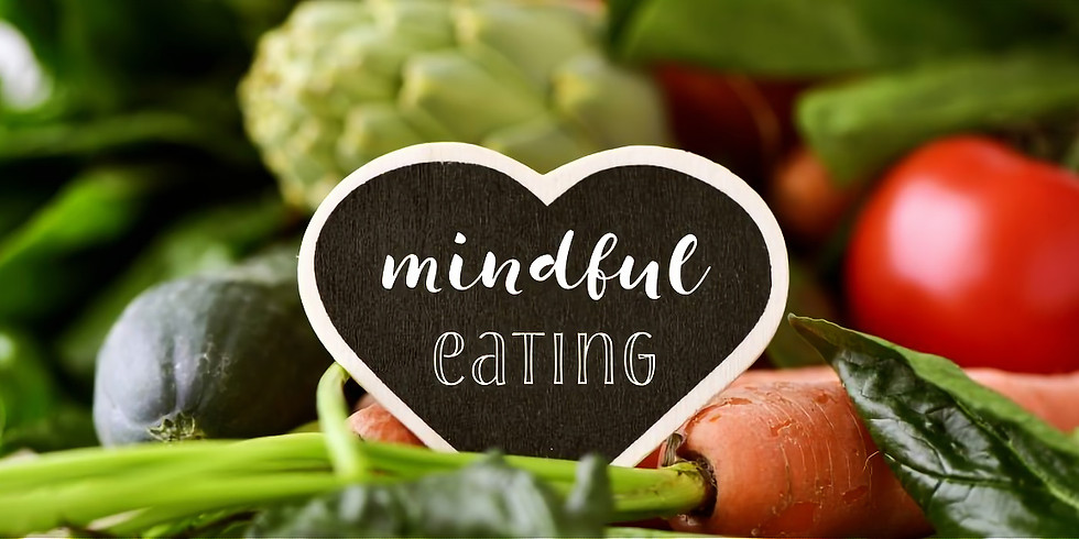 Mindful Eating Workshop - BANBRIDGE - 4 weeks 8th September