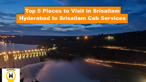 Hyderabad to Srisailam Cab Services