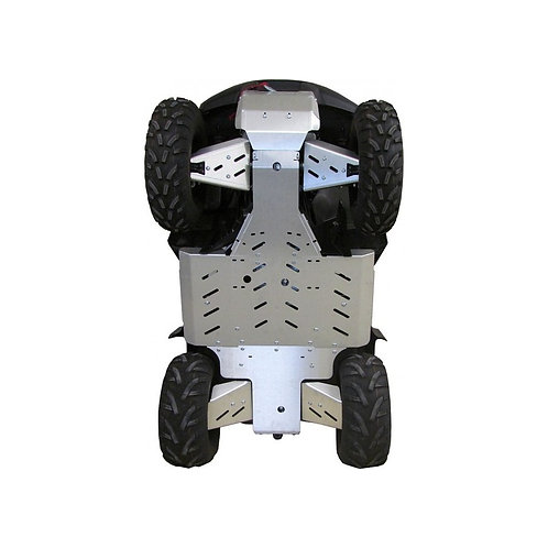ALU SKIDPLATESET KING QUAD 750 EPS