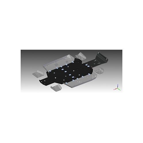 PVC SKIDPLATESET CFMOTOTRACKER 800