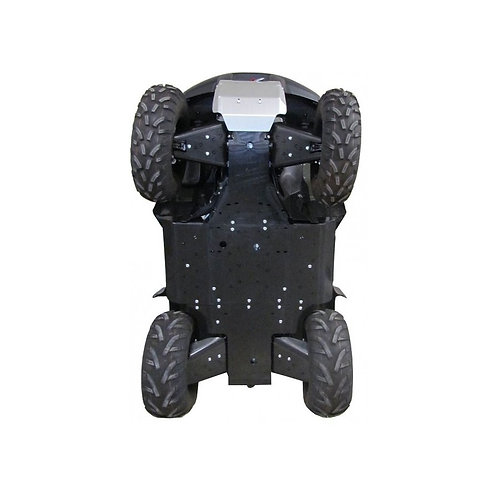 PVC SKIDPLATESET KING QUAD 750 EPS
