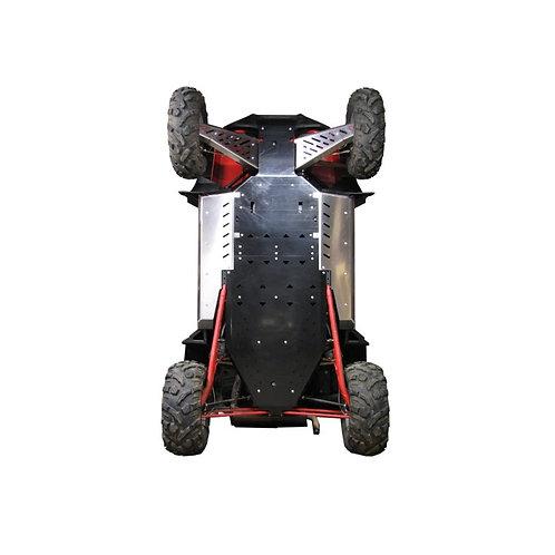 PVC SKIDPLATESET POLARIS RZR 900 XP