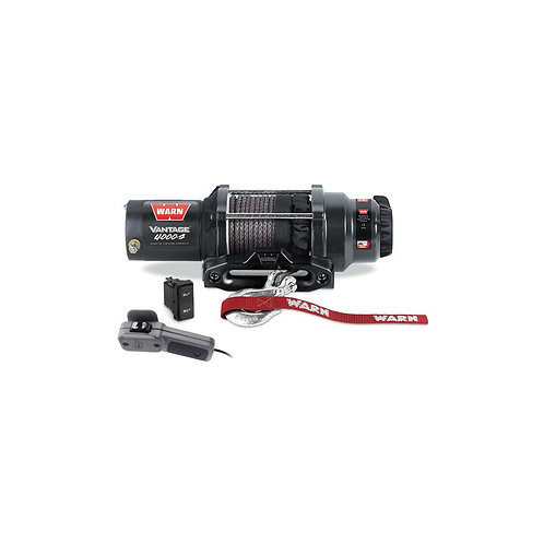 WINCH WARN VANTAGE 4000 S (1361KG) SYNTHETIC ROPE