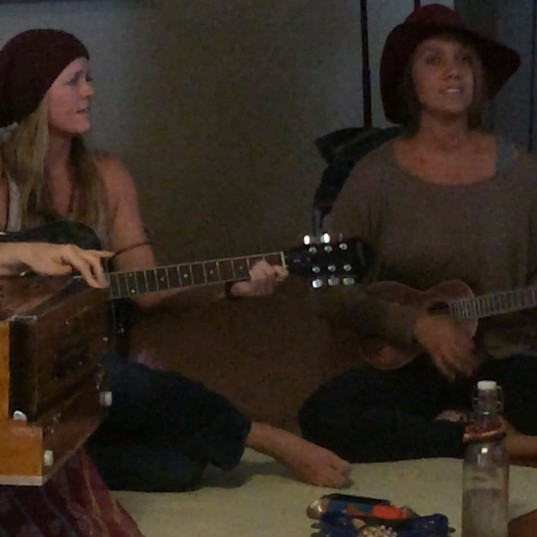 from our Kirtan days with Gabrielle Olko