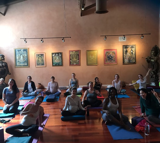 Teaching Prenatal Yoga and Golden Bridge