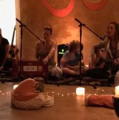 Yoga nest kirtan with Gabby and Donna