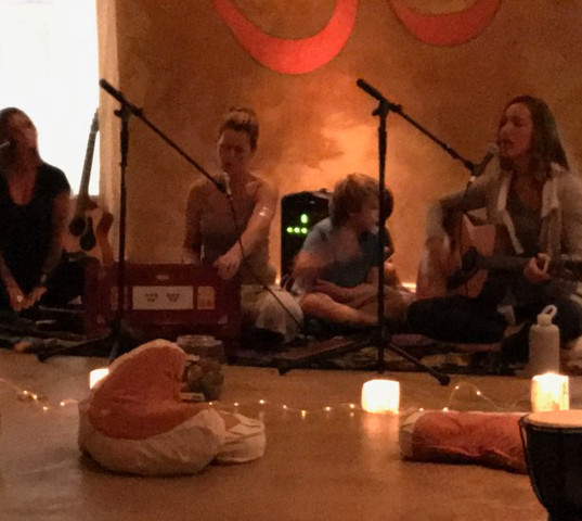 Yoga nest kirtan with Gabby and Donna