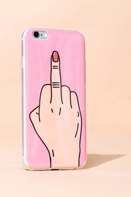 """Fuck Cancer"" iPhone case"