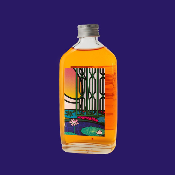 Pre-mixed cocktail bottle label