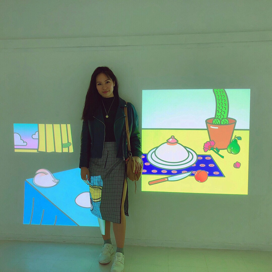 Animation projection
