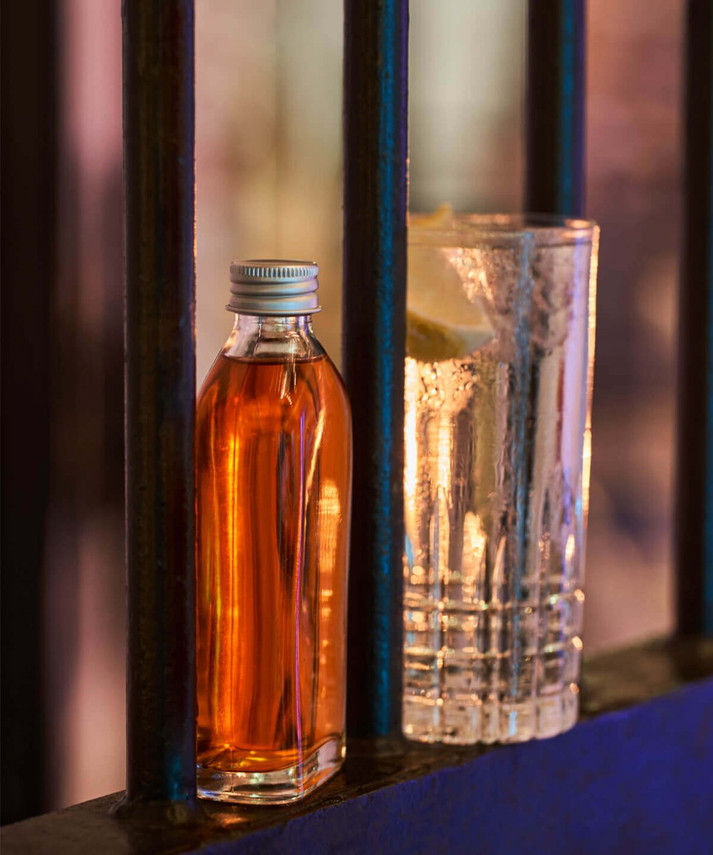 Behind Bars shot
