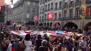 Switzerland: The Women's Strike Expressed in Many Ways by Denise Nickerson
