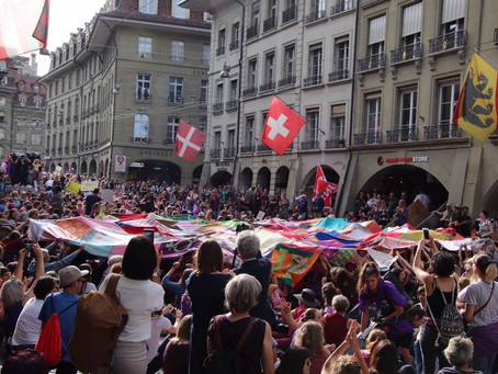 Switzerland: The Women's Strike Expressed in Many Ways by Denise Nickerson