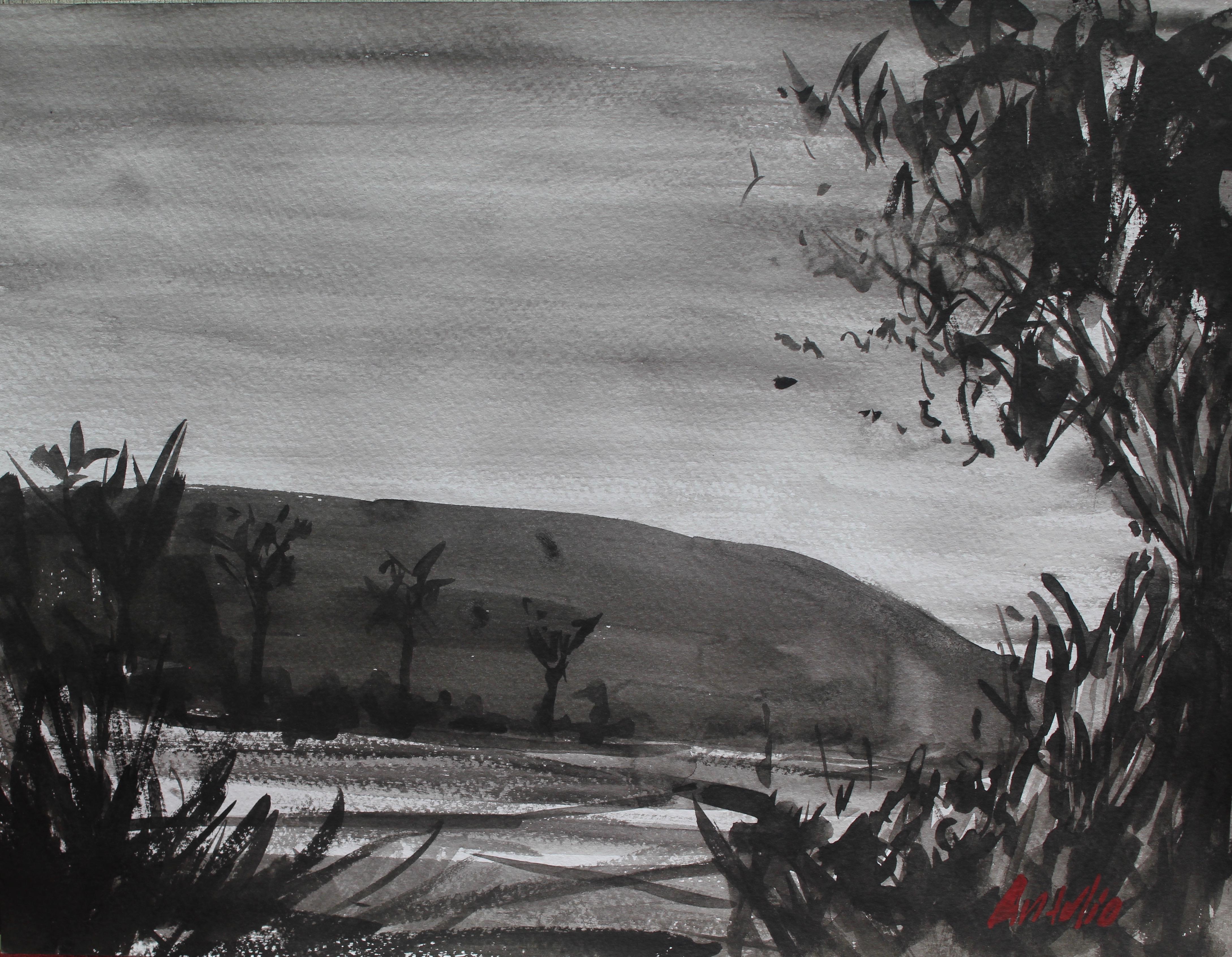Imaginary landscape IV