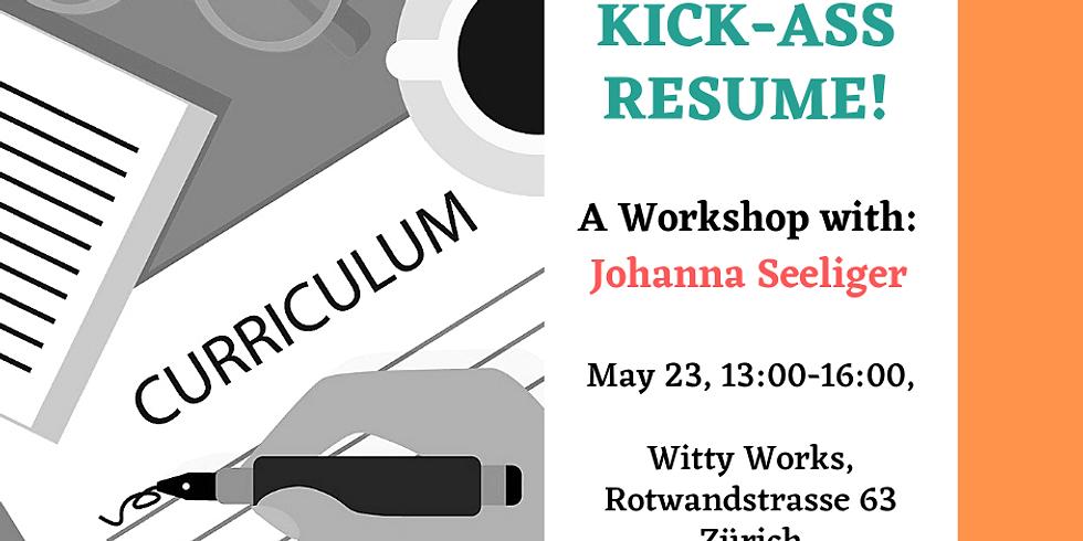 Write Your Kick-Ass Resume