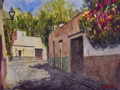 Watercolor on cotton paper, 28 x 38cm, 2019  Value: $ 4,100 MXN
