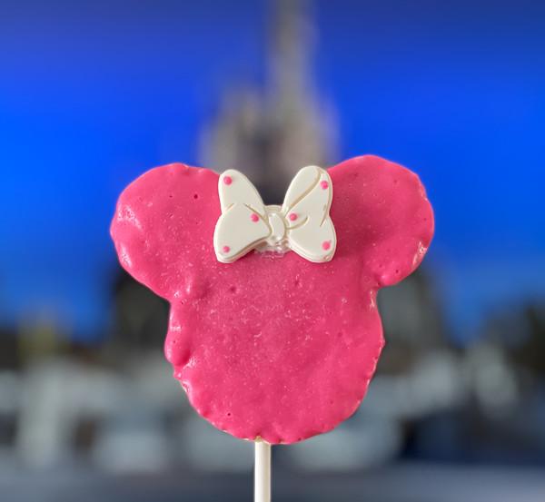 Minnie Mouse Rice Krispies Treats (all pink)   $24.99