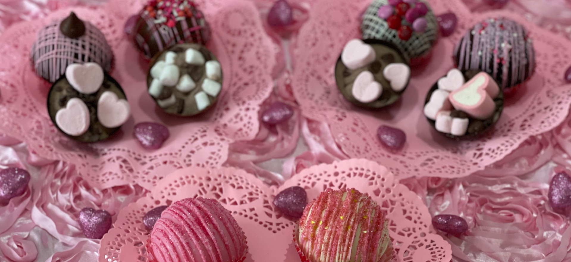 Valentine's Day Cocoa Bombs [Variety Pack] | $40
