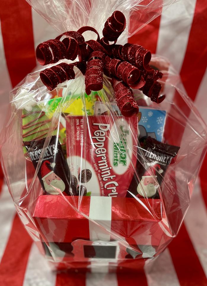 Christmas Movie Candy Basket | $35