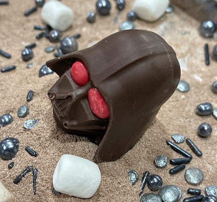 Darth Vader Cocoa Bombs