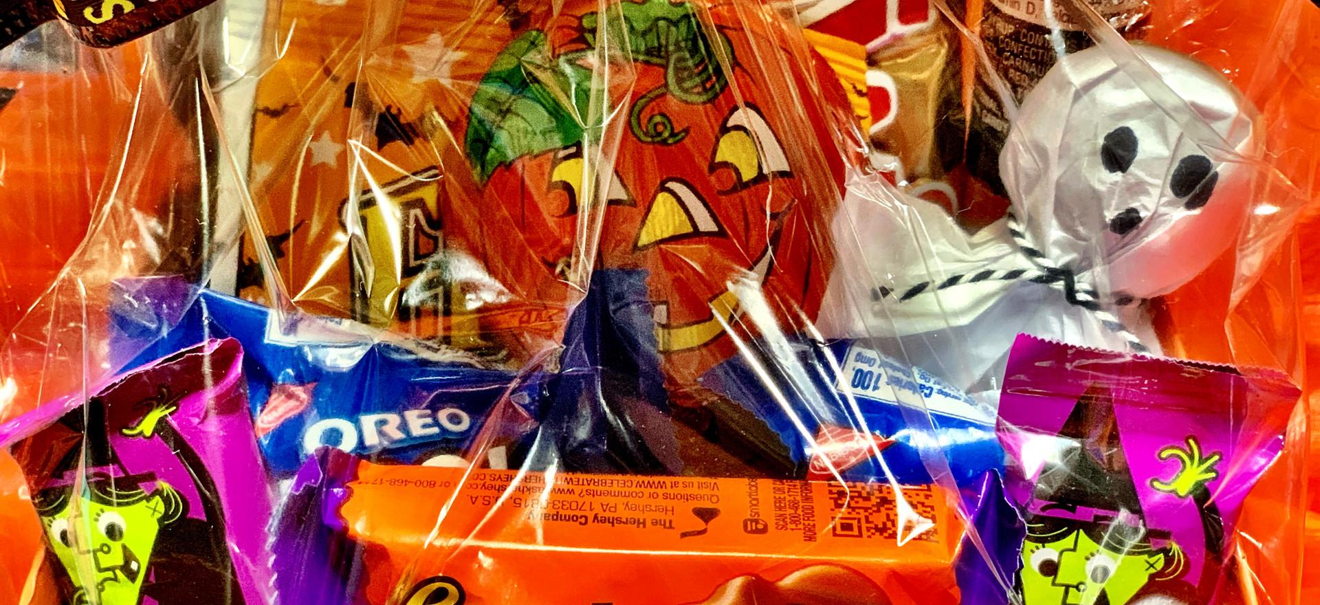 Halloween Candy Baskets