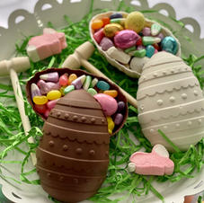 Chocolate Easter Egg Candy Surprise