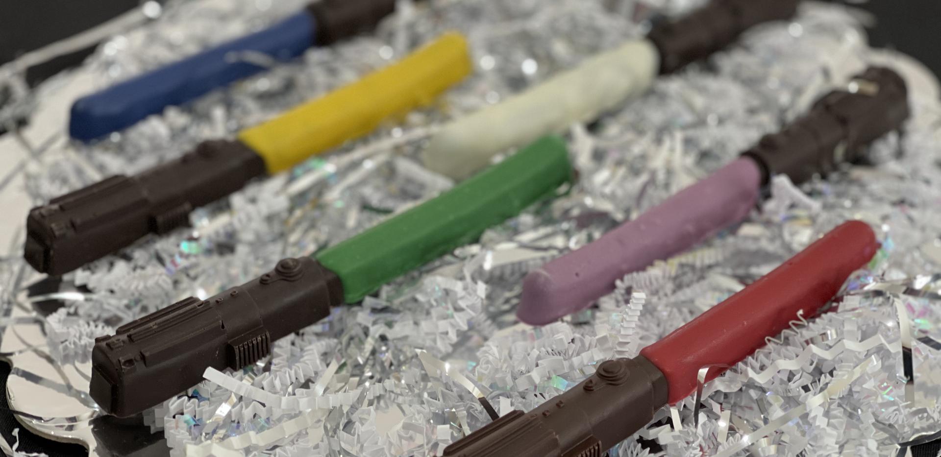 Star Wars Chocolate Lightsabers | $18