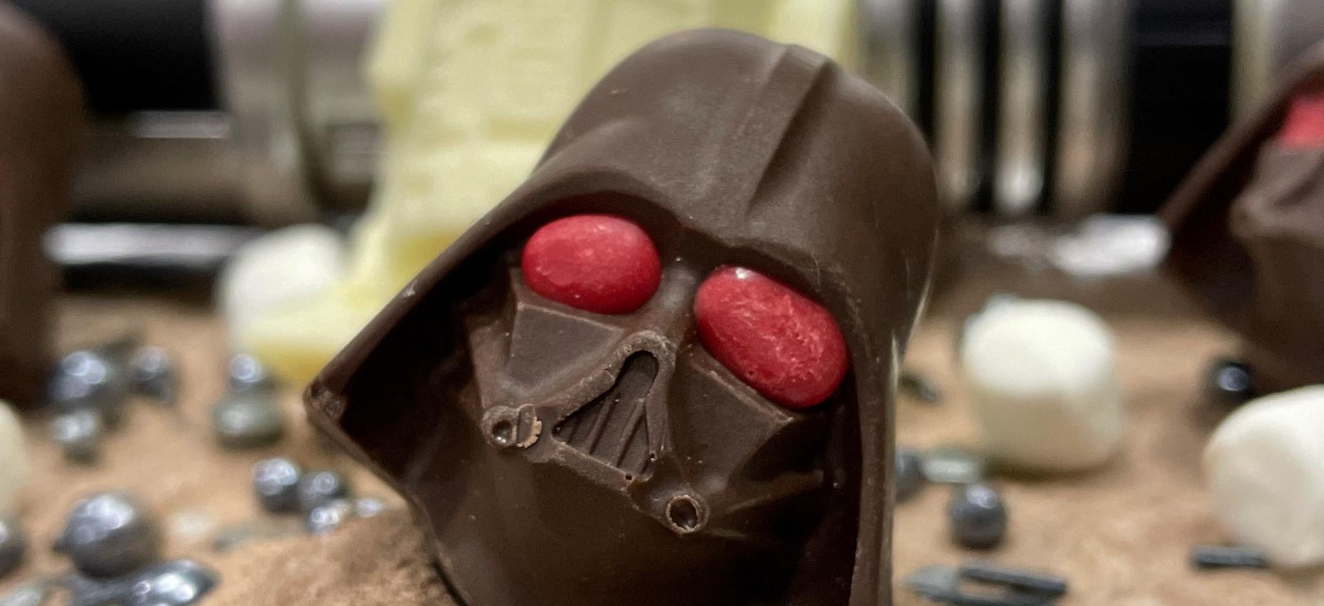 Star Wars Cocoa Bombs (Darth Vader, Yoda, and R2-D2) | $30