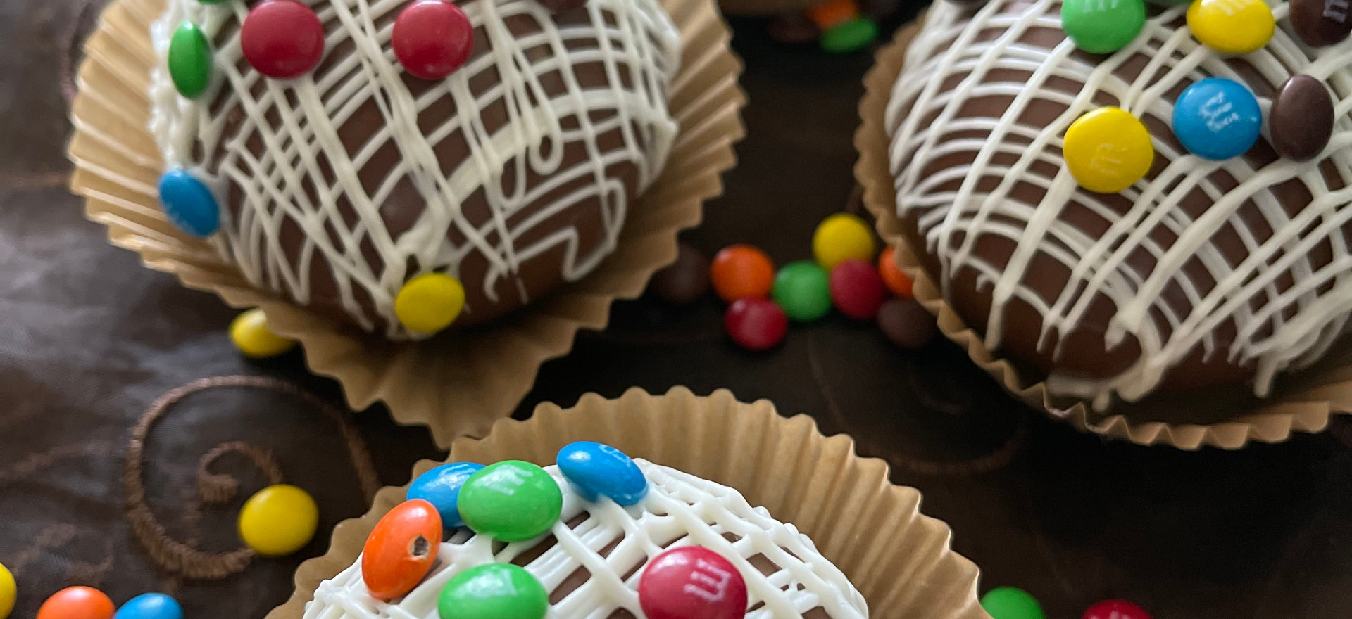 M&M Cocoa Bombs [Box of 4] | $25