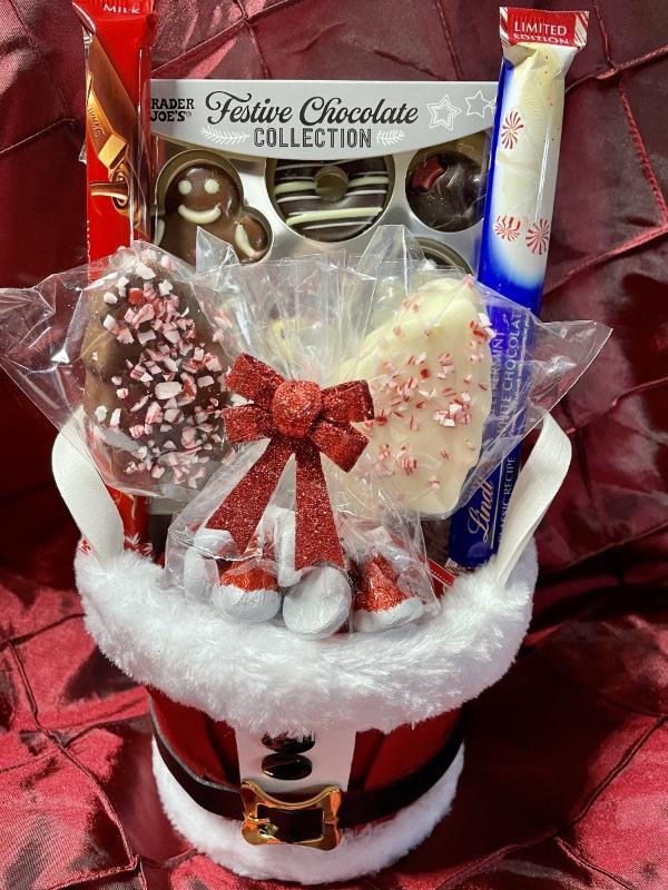 Christmas Candy Basket | $45