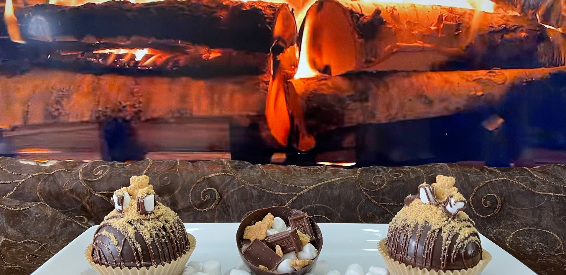S'mores Cocoa Bombs | $25